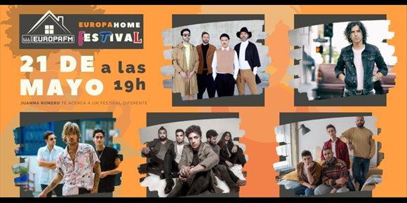 5. Europa Home Festival reúne a Miss Caffeina, Rulo y La Contrabanda, Marlon, Shinova y Veintiuno