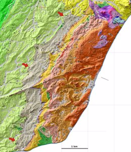 Geólogos españoles cartografían indicios del meteorito que acabó con los dinosau