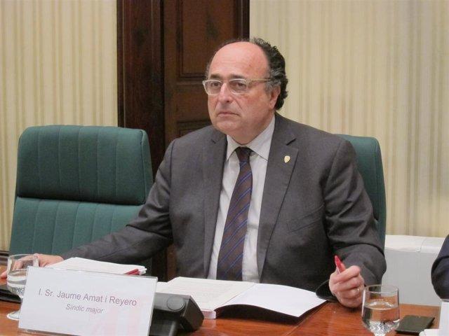 Jaume Amat, síndic de Comptes de Catalunya