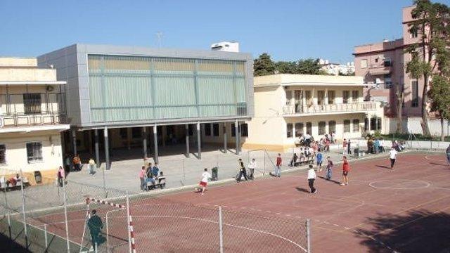 El patio del CEIP Institución Provincial Gaditana