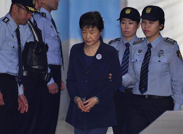 Park Geun Hye, expresidenta de Corea del Sur.
