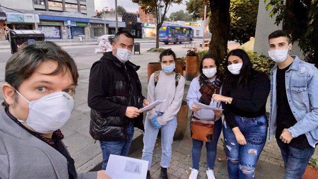 Coronavirus.- Cuatro de los 15 vascos atrapados en Colombia regresarán a Madrid