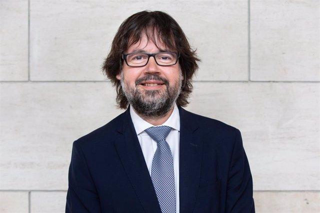 El presidente de Ferrocarriles de la Generalitat de Caraluña (FGC), Ricard Font, en una imagen de archivo