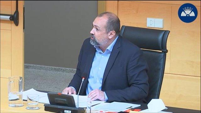 El procurador socialista Eugenio Miguel Hernández Alcojor.