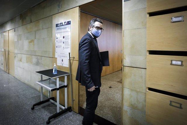 El ministro de Finanazas y portavoz del Gobierno de Andorra, Eric Jover.