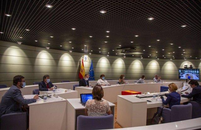 Primera sesión de la Comisión de Seguimiento Tripartita Laboral,