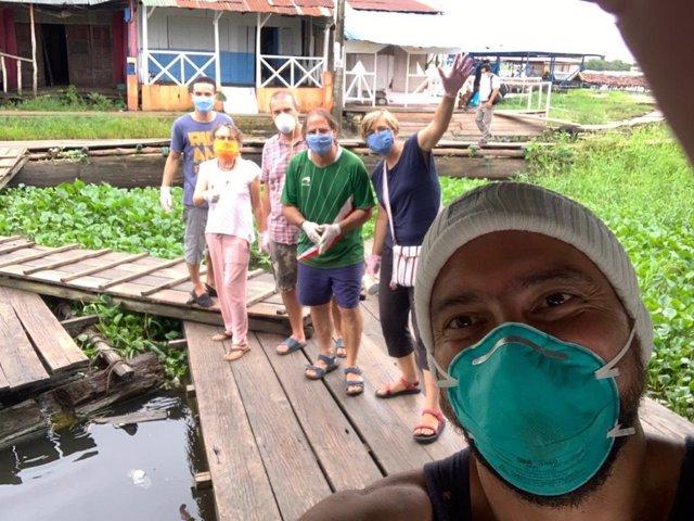 Una misionera valenciana en la Amazonía pide ayuda ante la falta de medicamentos, comida y productos de higiene para combatir el COVID-19 en los pueblos indígenas
