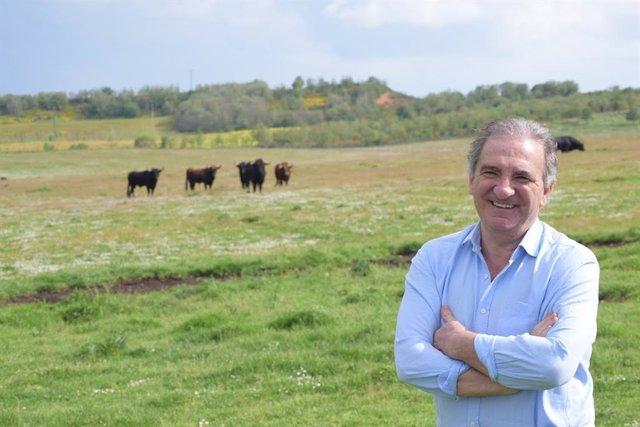 El ganadero Antonio Bañuelos presidirá durante la Unión de Criadores de Toros de