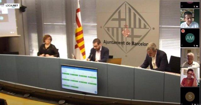 La comisión de Economía y Hacienda de Barcelona