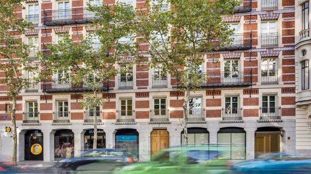 Immoble a Madrid del carrer Serrano 7