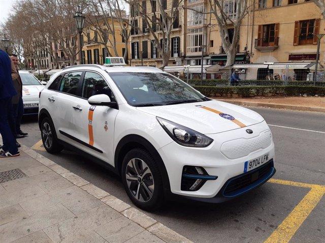 Taxi eléctrico de Palma de Mallorca