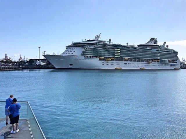 Crucero Independence of the Seas en Las Palmas de Gran Canaria