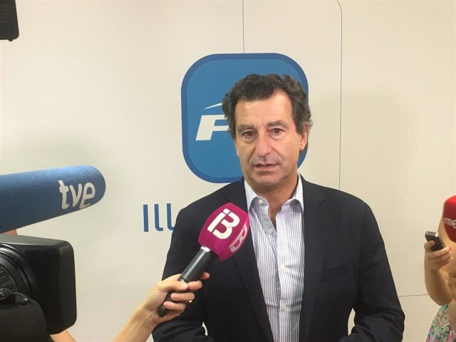 El president del PP de Balears, Biel Company.