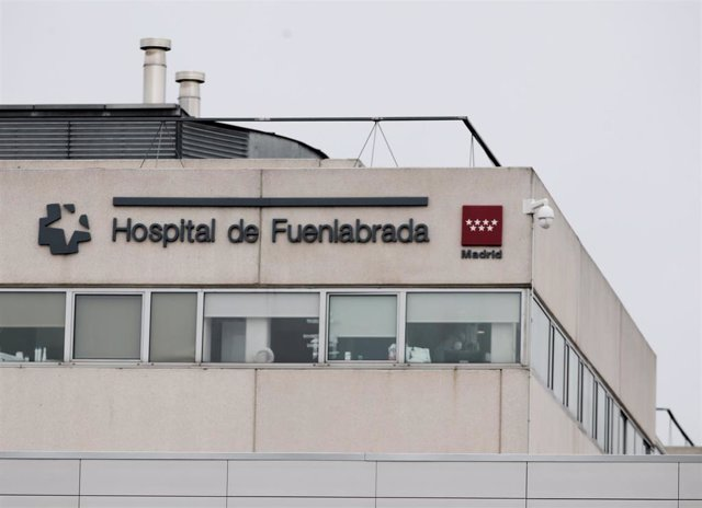 Exterior del Hospital de Fuenlabrada.