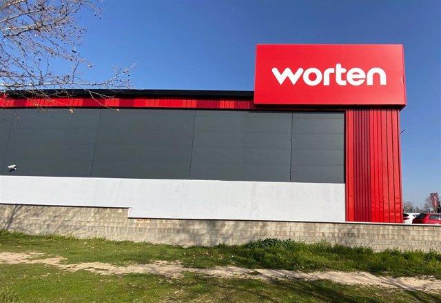 Una de las tiendas de la empresa de electrodosmésticos y electrónica Worten, en Madrid (España), a 07 de febrero de 2020.