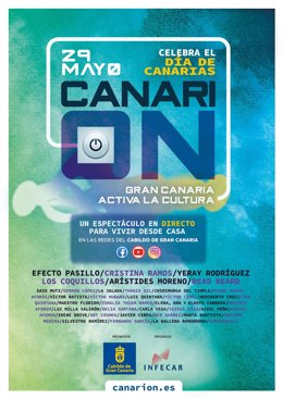Cartel del Festival Canari-on