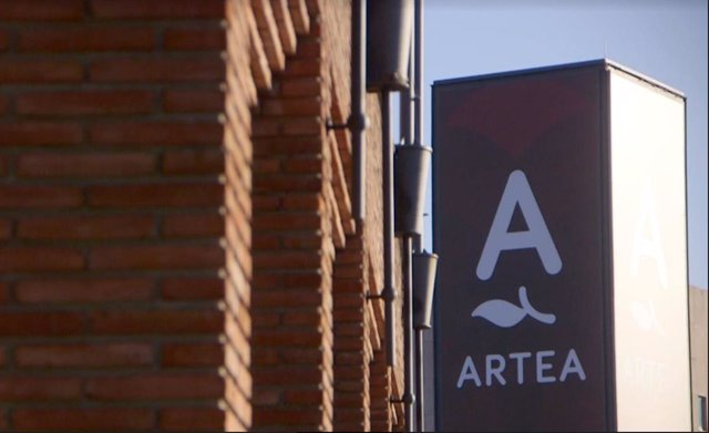 Logo del centro comercial Artea de Leioa (Bizkaia)