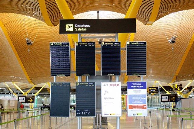 Vista general de la terminal 4 del Aeropuerto de Madrid-Barajas Adolfo Suárez.