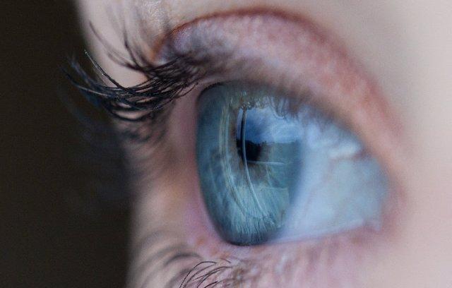 Detalle de un ojo.