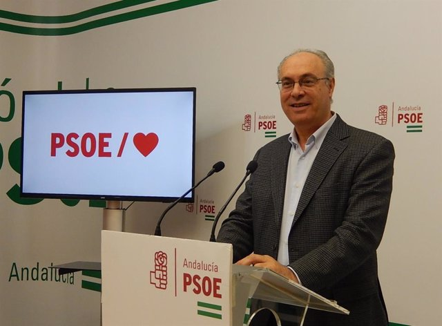 El parlamentario andaluz del PSOE por Córdoba Juan Pablo Durán.