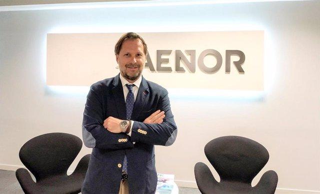 Diego Herranz, director general de Aenor en Perú y Ecuador
