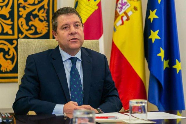 Presidente de Castilla-La Mancha, Emiliano García-Page,