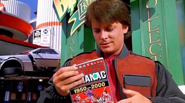 Michael J. Fox en Regreso al Futuro