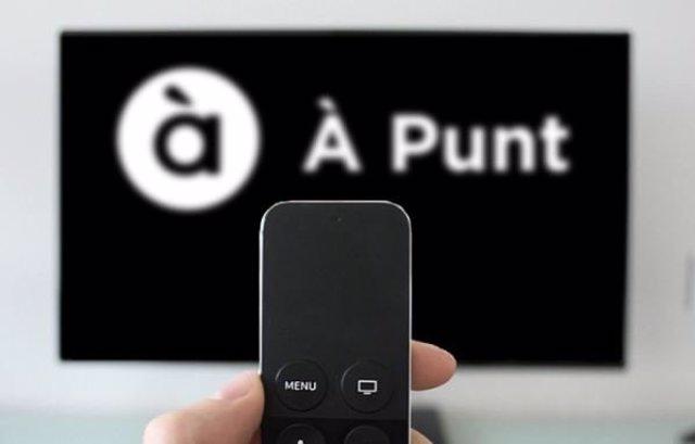 Punt en un 'smart TV' (archivo)