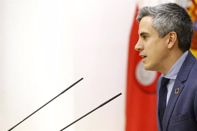 Pablo Zuloaga, vicepresidente y portavoz del Gobierno