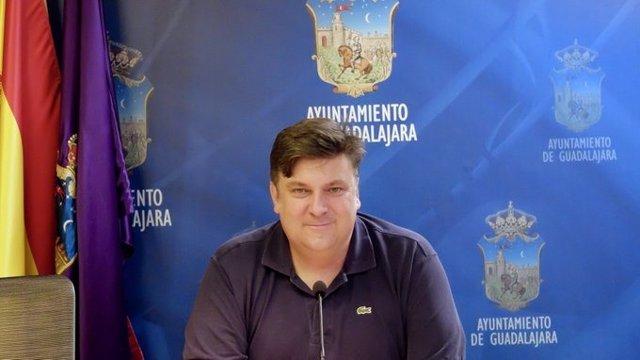El concejal de Turismo de Guadalajara, Fernando Parlorio.