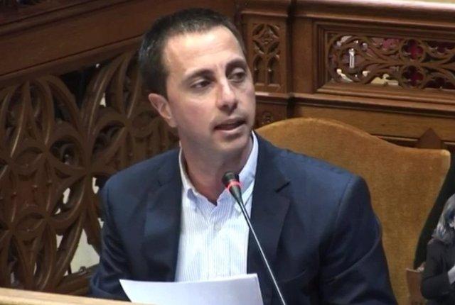 El portavoz del PP en el Consell de Mallorca, Llorenç Galmés.