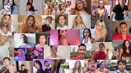 Danna Paola estrena su vídeo de concienciación 'Contigo' con Ester Expósito, Lola Índigo, Sebastián Yatra y más