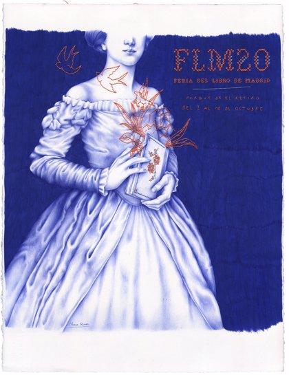 """El cartel de la Feria del Libro de Madrid reivindica a la mujer lectora """"en tiempos excepcionales"""""""