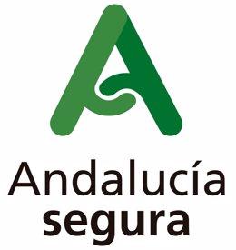 Distinto 'Andalucía Segura' realizado por la Junta de Andalucía.