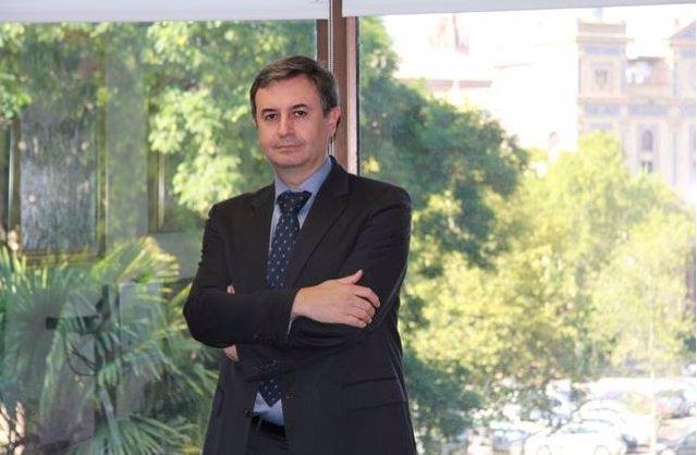 Rafael Sánchez Durán el día de la lectura de la Tesis, en febrero 2020.