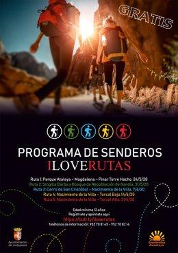 Programa Gratuito 'I Love Rutas' De Antequera