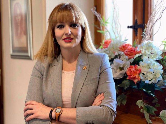 La segunda teniente de alcalde y concejala de Promoción Económica, Comercio y Mercados, María Cantos.