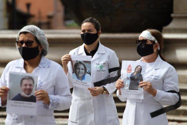 Coronavirus.- El personal de enfermería contagiado por COVID-19 en Brasil repres