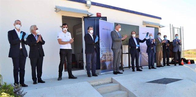 Puesta en marcha de la nueva conexión de APM Terminals Algeciras a la red nacional de distribución eléctrica