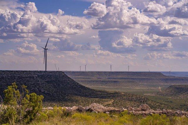 Parque eólico de Enel de High Lonesome en EEUU