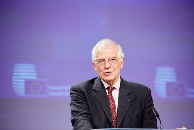 El Alto Representante de la Unión Europea (UE) para Asuntos Exteriores y Política de Seguridad, Josep Borrell