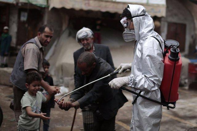 """Coronavirus.- MSF alerta de que en Yemen solo se conoce """"la punta del iceberg"""" d"""