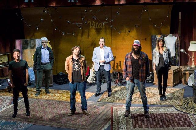 Las webs de EiTB y Fundación Vital emiten desde este viernes en directo un ciclo de conciertos de artistas vascos