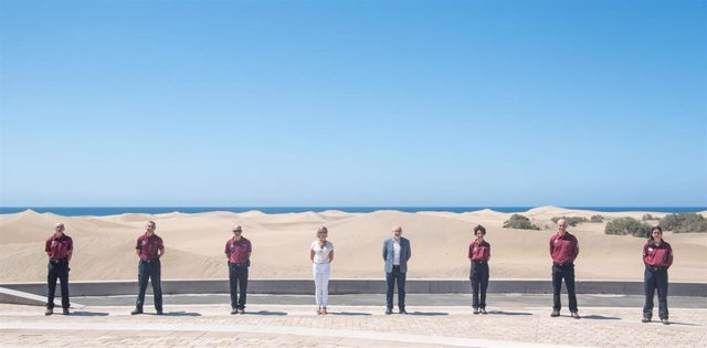 Las Dunas de Maspalomas (Gran Canaria) estarán vigiladas por seis efectivos con capacidad sancionadora