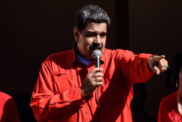 El presidente de Venezuela, Nicolás Maduro (Imagen de archivo)