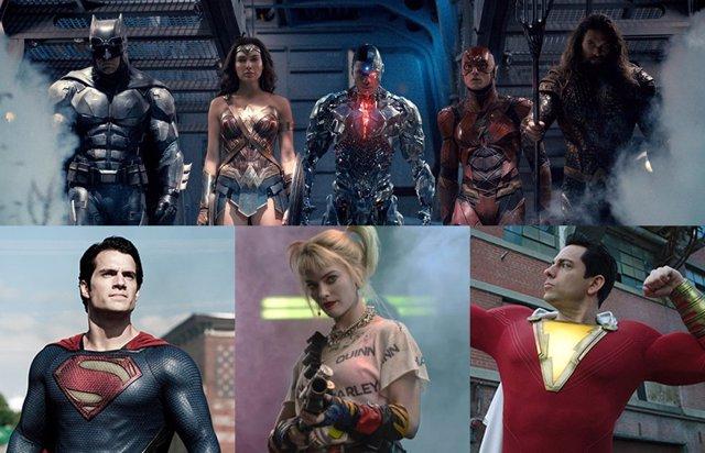 Películas del Universo DC