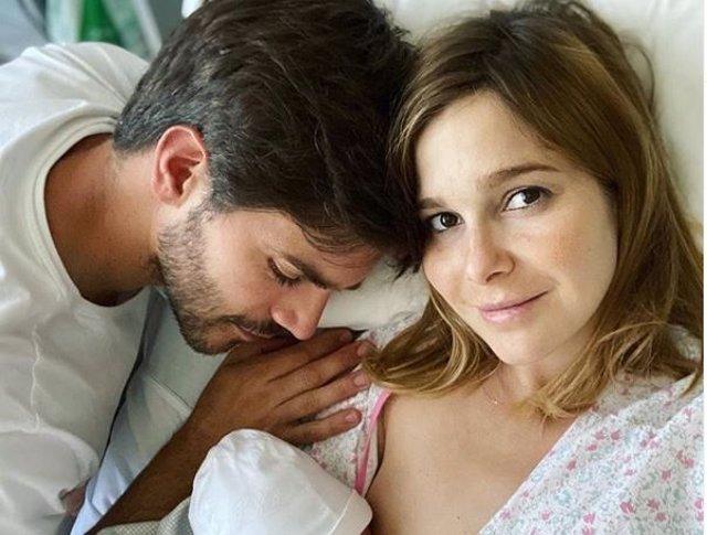 Natalia Sánchez y Marc Clotet han sido padres de Neo en pleno COVID-19