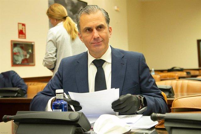 El secretario general de Vox, Javier Ortega-Smith.