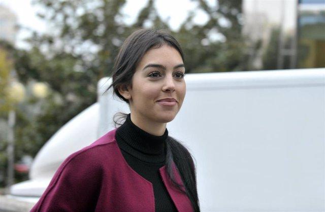 Georgina Rodríguez vuelve al trabajo en Italia. Muy guapa, en una foto de archivo de Europa Press