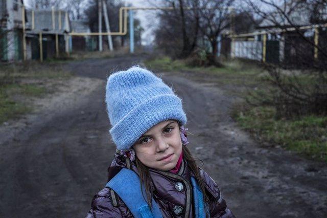 """Ucrania.- UNICEF denuncia que el aumento de los ataques en Ucrania ha causado """"n"""